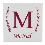 Canvas Single Letter/Family Name Misc. Gift Awards