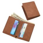 Leatherette Wallet, Caramel Misc. Gift Awards