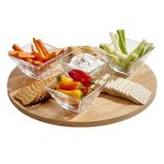 Lazy Susan Rubberwood Misc. Gift Awards