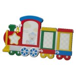 Multi Color Train Photo Frame Misc. Gift Awards