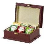 Rosewood Tea Box 6 Section Misc. Gift Awards