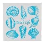 Canvas Sea Shells Beach Life Misc. Gift Awards