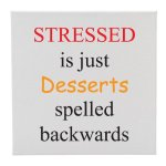 Canvas Stressed/Desserts Misc. Gift Awards