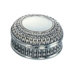 Beaded Antique Round Box Misc. Gift Awards