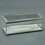 Rectangle Hinged Box, Glass Misc. Gift Awards