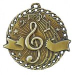 Burst Thru Medal -Music Music Trophy Awards