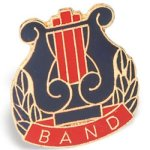 Band Lapel Pin Music Trophy Awards