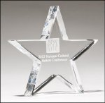 Constellation Series Crystal Award Paper Weight Crystal Awards