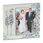 Sparkling Goblets Frame Photo Gift Items