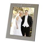Silhouette Frame Photo Gift Items