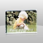 Acrylic Slide In Picture Frame Photo Gift Items