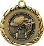 3D Die Cast Medal -Football  QCM Medal Awards