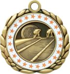 3D Die Cast Medal -Swimming  QCM Medal Awards