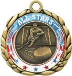 3D Die Cast Medal -Hockey  QCM Medal Awards