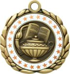 3D Die Cast Medal -Knowledge  QCM Medal Awards