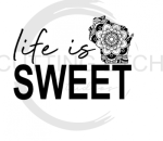 Life is Sweet WISCONSIN Quote Designs
