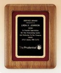 American Walnut Frame Plaque Recognition Plaques