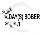 Days Sober Sassy  Designs