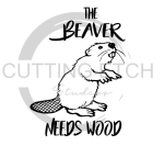 The Beaver Needs Wood Sassy  Designs