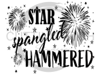 Star Spangled Hammered Sassy  Designs