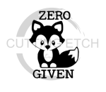 Zero Fox Given Sassy  Designs