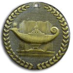 Supreme Medal -Lamp of Knowledge  Scholastic Trophy Awards