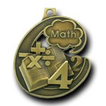 Champion Medal -Math Scholastic Trophy Awards