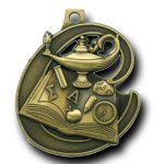 Champion Medal -Knowledge Scholastic Trophy Awards
