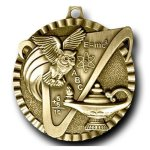 Value Medal -Knowledge Scholastic Trophy Awards