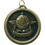 Value Medal Series Awards -Social Studies  Scholastic Trophy Awards