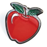 Apple Lapel Pin Scholastic Trophy Awards