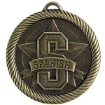 Value Medal Series Awards -Spanish  Scholastic Trophy Awards