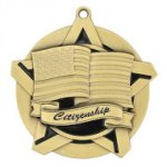 Super Star Medal -Citizenship Scholastic Trophy Awards