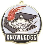 High Tech Medal -Knowledge  Scholastic Trophy Awards