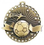 Burst Thru Medal -Soccer  Soccer Trophy Awards