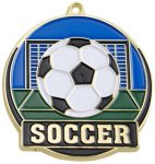 High Tech Medal -Soccer  Soccer Trophy Awards