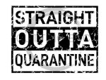 Straight Outta Quarantine Social Distancing Designs