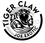 White Claw Tiger Claw Joe Exotic Social Distancing Designs