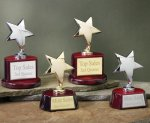 Star with Piano Finish Base Series Star Awards