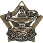 Star Series Medal Awards -Lamp of Knowledge Star Medal Awards
