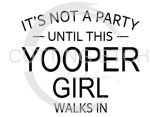 MI - It's Not a Party Until This Yopper Girl Walks In   States Designs