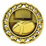 SM Medal -Football  Super Star Medal Awards