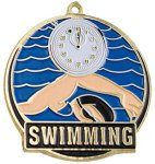High Tech Medal -Swimming  Swimming Trophy Awards