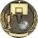 Tri-Colored Series Medals -Basketball Tri-Colored Medal Awards