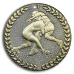 Supreme Medal -Wrestling  Value Line Medal Awards