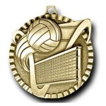 Value Medal -Volleyball Value Line Medal Awards