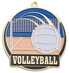 High Tech Medal -Volleyball Volleyball Trophy Awards