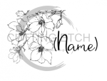 Floral with Name Wedding Marriage Designs