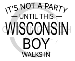 It's Not a Party Until THIS WI Boy Walks In Wisconsin Designs