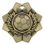 Imperial Medals -Soccer  Wreath Medal Awards